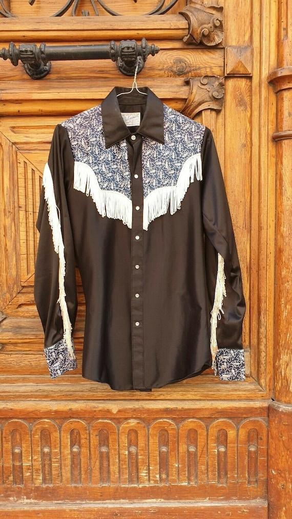 Vintage Rockmount Ranch wear Western shirt cowboy