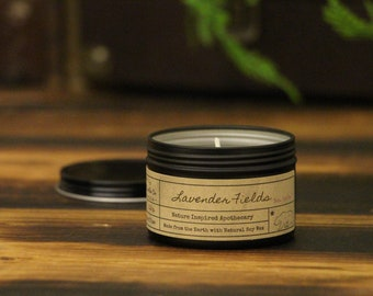 Artisan Soy Wax Candles Inspired by Nature by HazelCandleCo