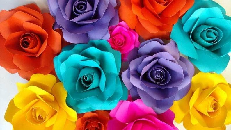 Mini paper flowers 4