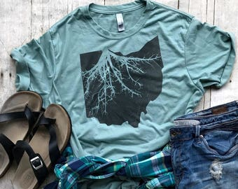 d10432a8a572 ohio roots shirt vintage ohio shirt blame it all on my roots ohio state  shirt gift for ohio lover ohio fan shirt hipster ohio roots tshirt