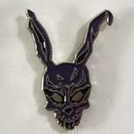 Frank the Rabbit Donnie Darko Purple Hat Pin
