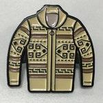 Big Lebowski Dude Sweater Enamel Hat Pin