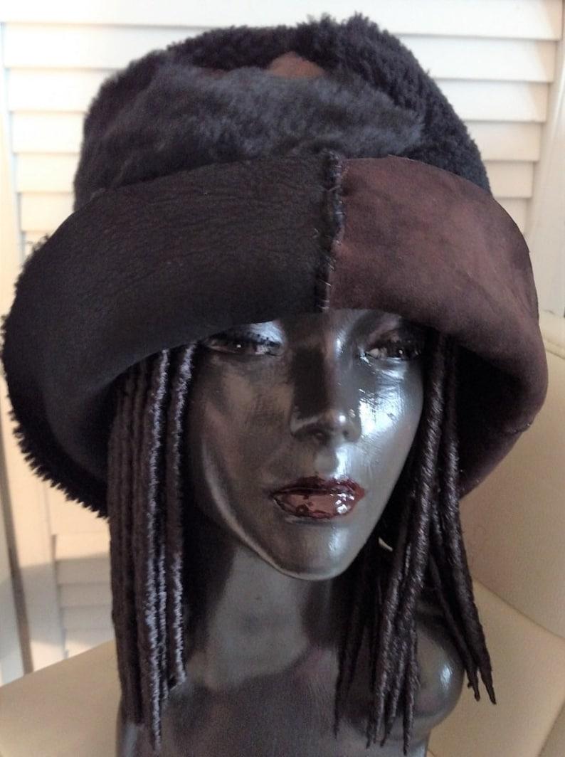 d9d7ecd887674 Reversible Sherpa w  Frankenstien stitch bucket hat
