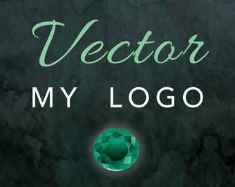 VECTORIZE ANY LOGO - We will create a vector .eps or .ai file from any logo file you supply us.