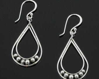 Handmade Hammered Circles 'N More Earrings