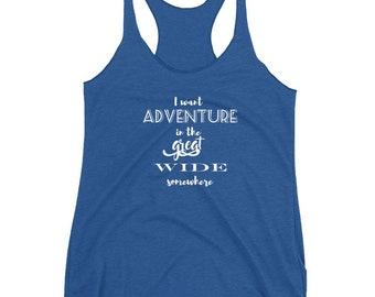 Beauty and the Beast, Disney Tank Top, Adventure Shirt, Belle Shirt, Disney Shirt, Travel Shirt, Disney Womens Shirt