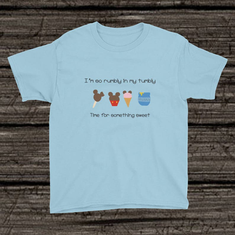 8147041ac Kids Winnie the Pooh Bear Shirt Mickey Snacks Shirt Kids | Etsy