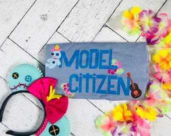 Stitch, Disney Lilo and Stitch Movie, Model Citizen, Disney Family, Disney Vacation Tshirt, Scrump Tshirt, Lilo Tshirt