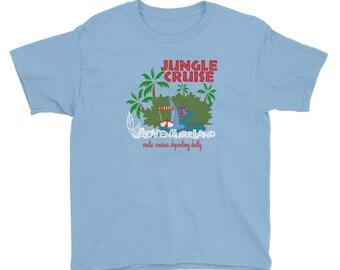 Jungle Cruise Kids Shirt, Disney Vacation, Disney Family Shirt, Disney TShirt, Walt Disney World, Disney Attractions, Adventureland