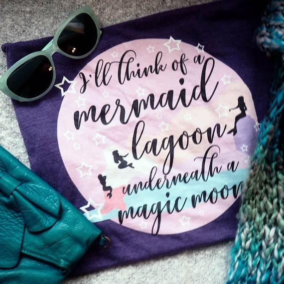 Mermaid Lagoon T Shirt Peter Pan Neverland Think