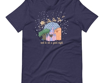 Christmas at Walt Disney World with Santa Short-Sleeve Unisex T-Shirt