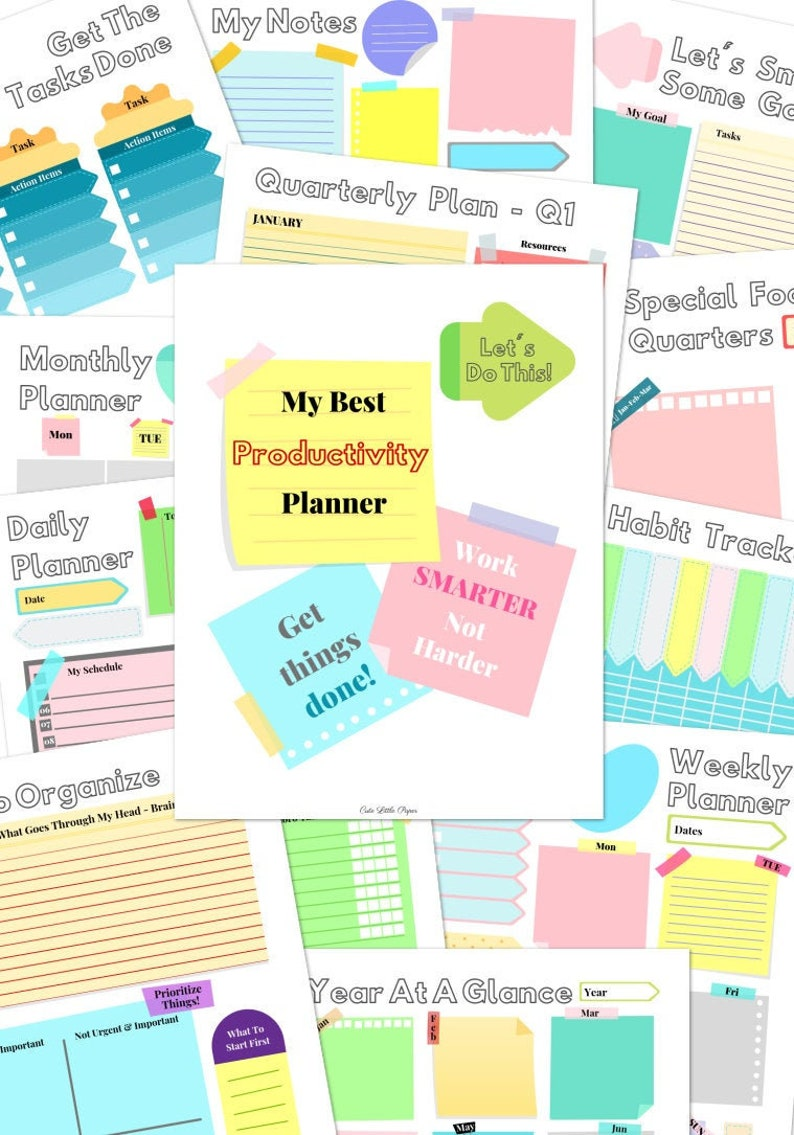 Productivity Planner image 0