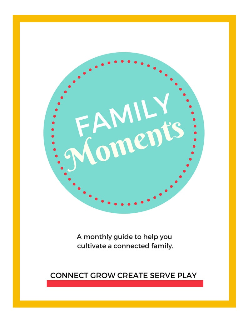 PRINTABLE Family Night Activities | Bible Activities | Character Building |  Christian | Homeschool | Year of Family Nights | Family Fun