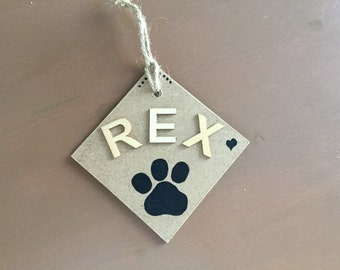 Labels custom animals, animal transport, animal plate