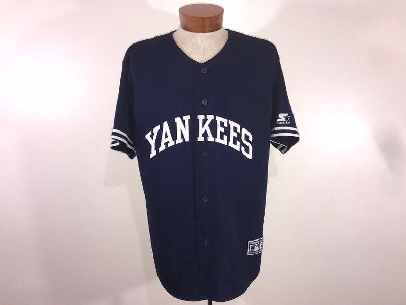 new concept 1d206 e90e3 Vintage New York Yankees Starter Jersey