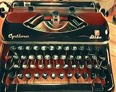 Optima Elite 2 - 1954 - Vintage portable german typewriter