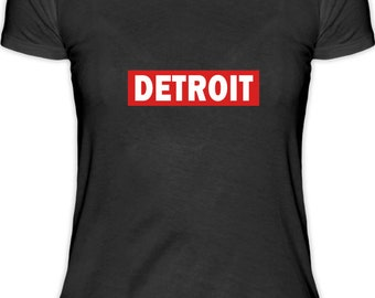 DETROIT-Electro Music Women's T-shirt
