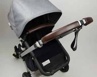 Genuine Leather handle bar cover & Bumper Bar cover for Bugaboo Cameleon 1 2 3