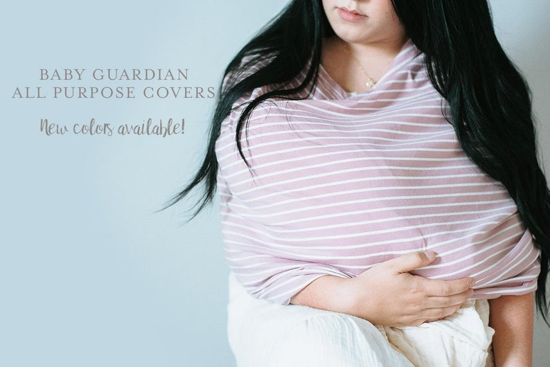 The Gray and White Stripe Baby Guardian Cover