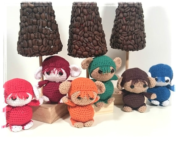 Häkeln Amigurumi Affe Spielzeug Baby-Dusche-Geschenk Waldorf   Etsy   460x570