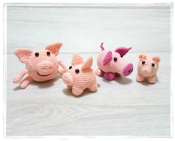 Schwein Ornament Schwein Amigurumi Schwein Spielzeug Hakeln Etsy