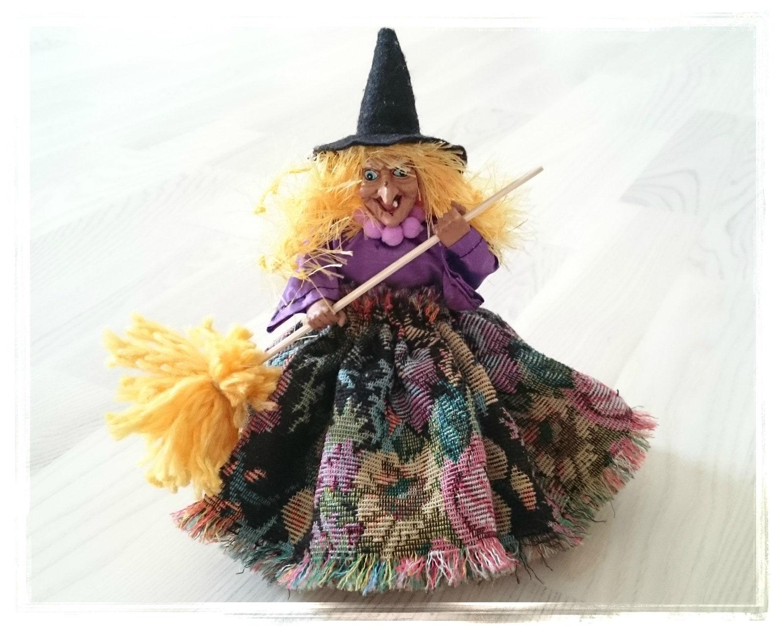 Witch Luna, Kitchen Witch, Kitchen Witch Doll,
