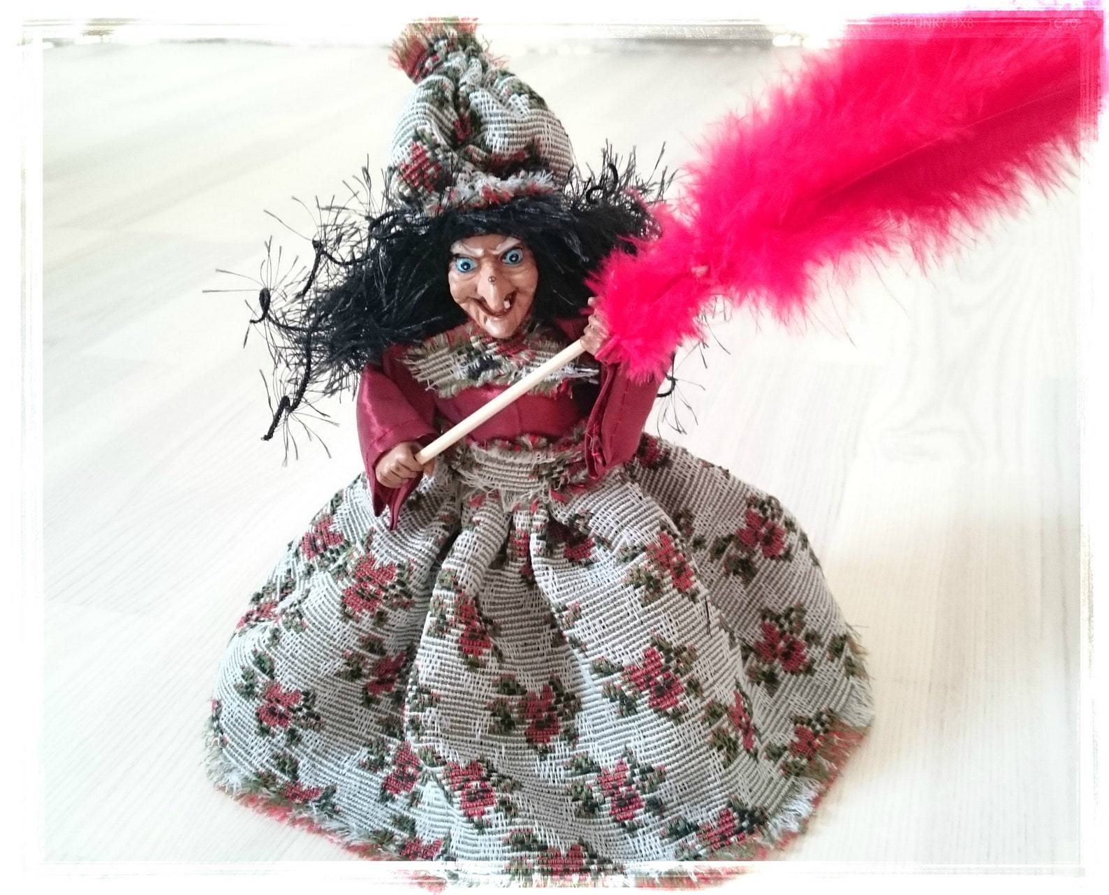 Kitchen WITCH, Kitchen Witch Doll, Witch Doll, Norway kitchen witch, Horror Decor, Hanging Witch, Fairy Figurine, Witch, Good Luck Witch Hag