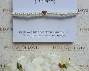 Bridesmaid Gift, Bridesmaid Thank You Gift, Bridesmaid Bracelet, Bracelet,