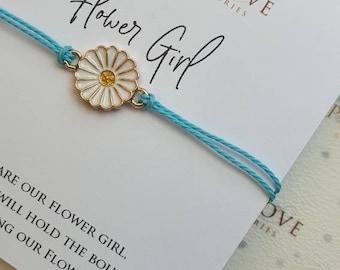 Flower Girl Bracelet, Flower Girl Gift, Wedding Gift, Bracelet