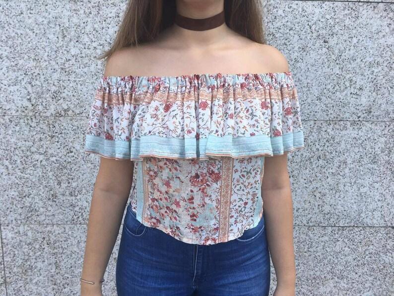 a43940365e1364 Shoulderless top   Shoulderless blouse   Shoulderless  Off the