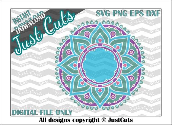 Download Mandala SVG mandala layered svg intricate svg svg eps | Etsy