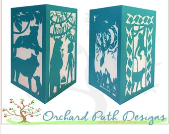 The Jungle Book Paper Lantern for DIsney themed weddings, birthdays, shower centerpieces and party decorations,