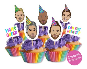 post malone cupcake toppers printable cupcake toppers post etsy. Black Bedroom Furniture Sets. Home Design Ideas