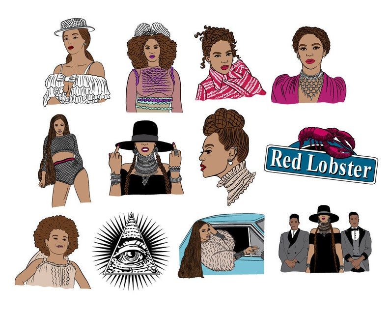 7c16c0dcb1 Formation 12 piece sticker set Beyonce sticker pack | Etsy
