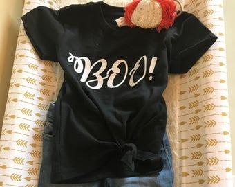 Halloween Boo Onsie & Tshirt