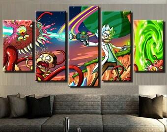 Multi Panel Art Etsy