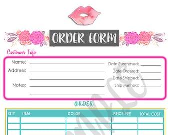 LipSense Order Form
