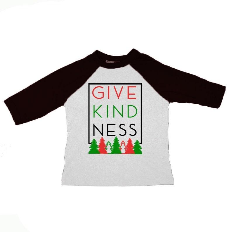 1b5c988e Toddler Give Kindness Raglan Tshirt | Etsy
