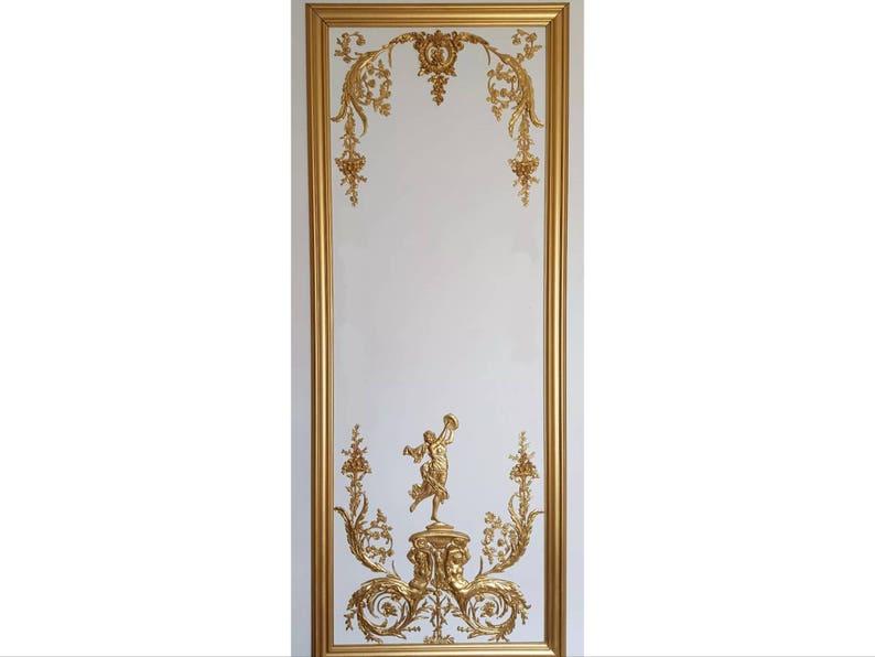 Blanc Ou Antique En Xvi Français Style Antoinette Décoratif Muraux Panneaux Plastique Louis Marie Panneau Doré De k8nPX0wO