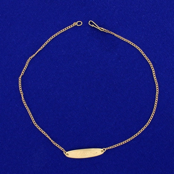 Claire Curb Link Bracelet in 14K Yellow Gold