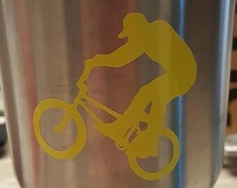 BMX bike Vinyl Decal