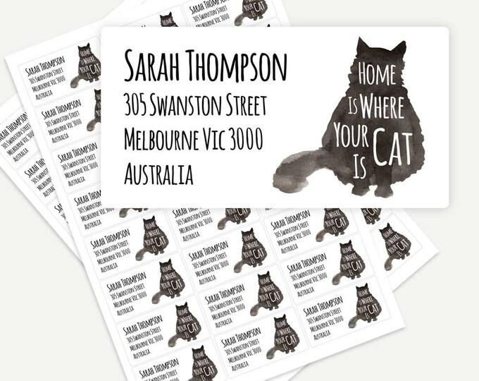 return address stickers cath leigh designs