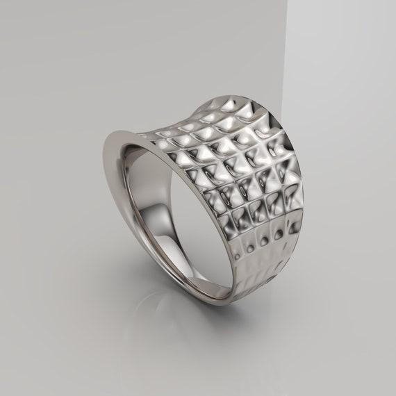 Mira Ring Parametric Ring Women Ring Minimal Ring
