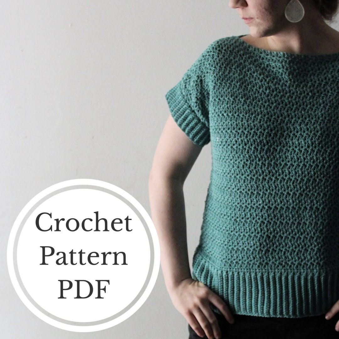 Pattern For The Krista Crochet Top Crochet Clothes Crochet Etsy