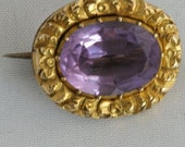 Antique gold brooch from ...