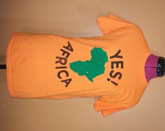 SALE with FREE shipping - yes!Africa Tee shirts