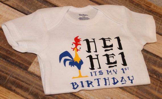 Hei Its My First Birthday Shirt