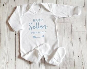 Salaam World Vest bodysuit baby grow romper modern fashion unisex