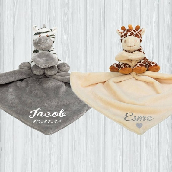 SOFT TOUCH BABY COMFORTER BLANKET-BOY//GIRL//UNISEX-VERY CUTE SMILING TEDDY-NEW