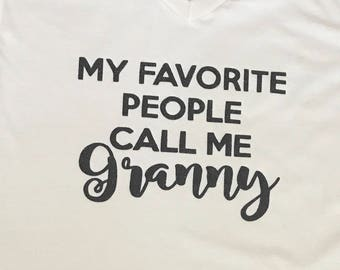 My Favorite People Call Me ...